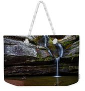Cedar Falls In Hocking Hills State Park Weekender Tote Bag
