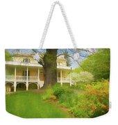 Cedar Grove In Spring Weekender Tote Bag by Nancy De Flon
