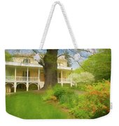 Cedar Grove In Spring Weekender Tote Bag