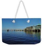 Cedar Key Pier Weekender Tote Bag