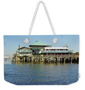 Cedar Key Waterfront Weekender Tote Bag