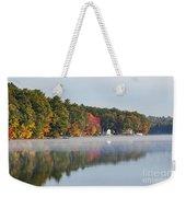 Cedar Lake Reflection Weekender Tote Bag