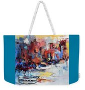 Cefalu Seaside Weekender Tote Bag by Elise Palmigiani