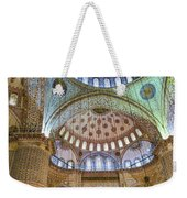 Ceiling Of Blue Mosque Weekender Tote Bag
