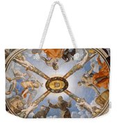 Ceiling Of The Chapel Of Eleonora Of Toledo Weekender Tote Bag