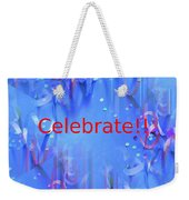 Celebrate 1 Weekender Tote Bag