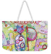 Celebrate Hope Weekender Tote Bag
