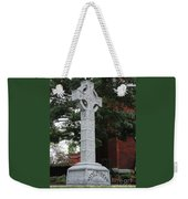 Celebrating The Celtic Heritage At St Patricks Church Weekender Tote Bag