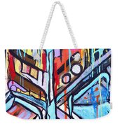 Celebrating The Future - Left Weekender Tote Bag