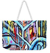 Celebrating The Future - Right Weekender Tote Bag
