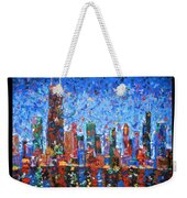 Celebration City Weekender Tote Bag