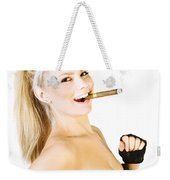 Celebration Of Fun And Success Weekender Tote Bag