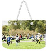Celebration Of Life In Colorful Skirts Weekender Tote Bag