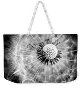 Celebration Of Nature In Black And White Weekender Tote Bag