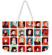 Celebrities Weekender Tote Bag