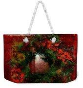 Celestial Christmas Weekender Tote Bag