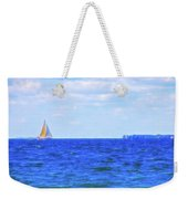 Celestial Skies Sailing The Blue Weekender Tote Bag
