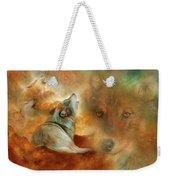 Celestial Wolves 2 Weekender Tote Bag