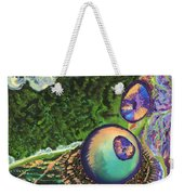 Cell Interior Microbiology Landscapes Series Weekender Tote Bag