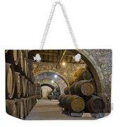 Cellar With Wine Barrels Weekender Tote Bag