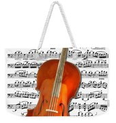 Cello With Clara Bow Weekender Tote Bag
