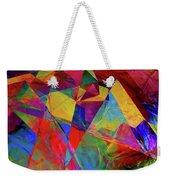 Cellophane Geometry Weekender Tote Bag