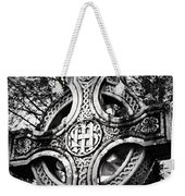 Celtic Cross Detail Killarney Ireland Weekender Tote Bag