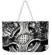 Celtic Cross Detail Killarney Ireland Weekender Tote Bag