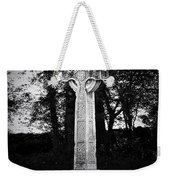 Celtic Cross In Killarney Ireland Weekender Tote Bag by Teresa Mucha
