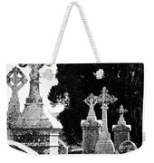 Celtic Crosses At Fuerty Cemetery Roscommon Ireland Weekender Tote Bag
