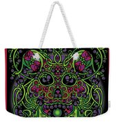 Celtic Day Of The Dead Skull Weekender Tote Bag