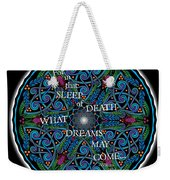 Celtic Dreamcatcher Weekender Tote Bag