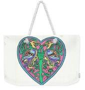 Celtic Heart Weekender Tote Bag