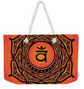 Celtic Tribal Sacral Chakra Weekender Tote Bag