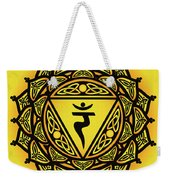 Celtic Tribal Solar Plexus Chakra Weekender Tote Bag