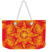 Celtic Tribal Sun Weekender Tote Bag