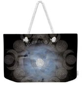 Celtic Triple Moon Goddess Mandala Weekender Tote Bag