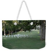 Cemetery At Shiloh National Military Park In Tennessee Weekender Tote Bag