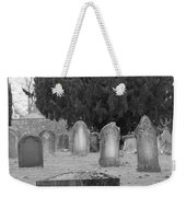 Cemetery Church Of St. Mary Wedmore Weekender Tote Bag