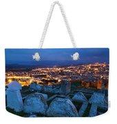 Cemetery Overlooking Fes, Morocco Weekender Tote Bag