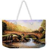 Cenarth Bridge And Falls Weekender Tote Bag