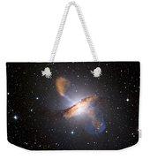 Centaurus A Black Hole Weekender Tote Bag