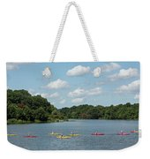 Centennial Lake Kayaks Weekender Tote Bag