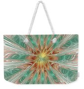 Center Hot Energetic Explosion Weekender Tote Bag