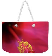 Center Of Attention - Hibiscus 01 Weekender Tote Bag