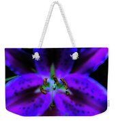Center Of The Asiatic Lily Weekender Tote Bag