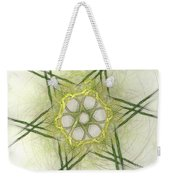 Center Of The Star Weekender Tote Bag