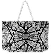 Centering Solitude Weekender Tote Bag
