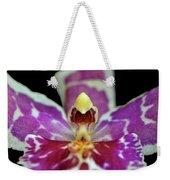 Centerpiece - Purple Orchid Macro Weekender Tote Bag