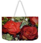 Centerpiece Roses Weekender Tote Bag